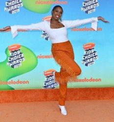 Jennifer Hudson attends Kids' Choice Awards 2019