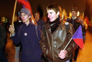 Velvet Revolution commemorated