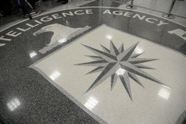 U.S President Donald Trump visits CIA