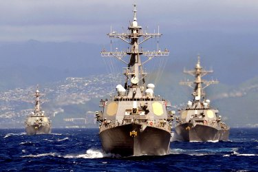 U.S. Navy Commander, Naval Surface Group Middle Pacific Sale
