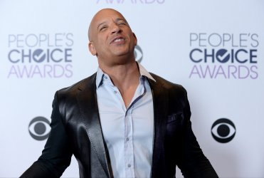 Vin Diesel garners award at the 42nd annual People's Choice Awards in Los Angeles