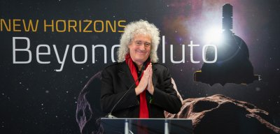 Rock Guitarist Brian May Discusses New Horizons Ultima Thule Flyby