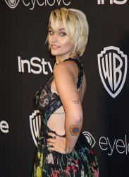 Paris Jackson attends the InStyle and Warner Bros. Golden Globe after-party in Beverly Hills