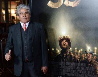 "Mario Gomez attends ""The 33"" premiere in Los Angeles"