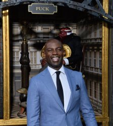 """David Gyasi attends the """"Carnival Row"""" premiere in Los Angeles"""