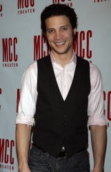 Justin Guarini arrives for the MCC Theater's Annual Musical Spectacular Miscast 2011 in New York