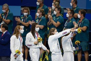 Team USA Womens Silver Medal Winner Tokyo Olympics