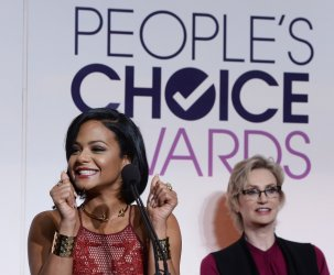 Christina Milian announces People's Choice Awards nominations in Beverly Hills