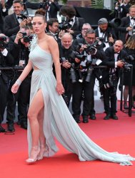 Adele Exarchopoulos attends the Cannes Film Festival