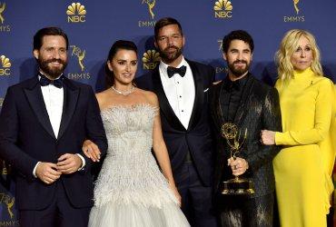 Edgar Ramirez, Penelope Cruz, Ricky Martin, Darren Criss and Judith Light wins award at the 70th Primetime Emmy Awards in Los Angeles