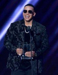 Daddy Yankee wins the Latin Rhythm Artist, Solo award at the Billboard Latin Music Awards in Las Vegas