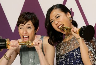 Becky Neiman-Cobb and Domee Shi wins Oscar at 91st Academy Awards