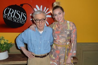 Woody Allen and Miley Cyrus 'The Crisis in Six Scenes'