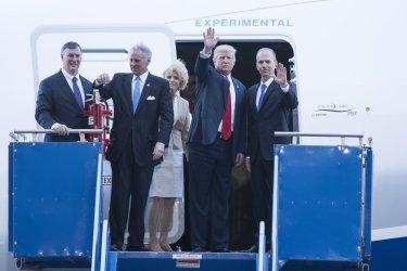 President Trump Visit to Boeing Factory in Charleston, SC
