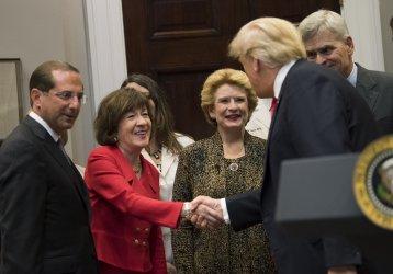President Trump Perception Drug Bill Siginings