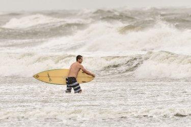 Tropical Storm Hermine Hits South Carolina Coast