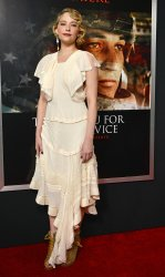 Haley Bennett attends 'Thank You for Your Service' premiere in Los Angeles