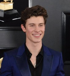 Shawn Mendes arrives for the 61st Grammy Awards in Los Angeles