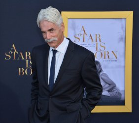 """Sam Elliott attends the premiere of """"A Star is Born"""" in Los Angeles"""