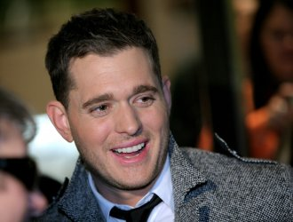 Michael Buble performs at Rockefeller Center Christmas tree lighting ceremony in New York