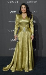 Salma Hayek attends the eighth annual LACMA Art+Film gala in Los Angeles