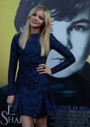 "Chloe Grace Moretz attends the ""Dark Shadows"" premiere in Los Angeles"