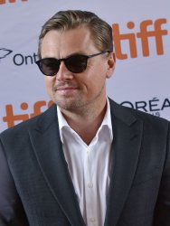 Leonardo DiCaprio attends 'And We Go Green' premiere at Toronto Film Festival