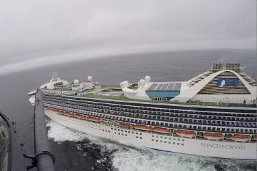 The California National Guard Delivers Covid-19 Test-Kits to Stranded Cruise Liner