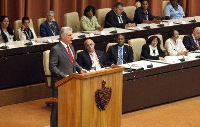 Cuba's New President Miguel Diaz-Canel.