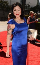 Margaret Cho attends the 2012 Creative Arts Emmy Awards in Los Angeles