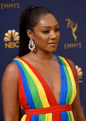 Tiffany Haddish attends the 70th annual Primetime Emmy Awards in Los Angeles