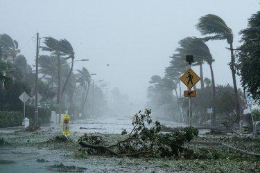South Florida Hit By Hurricane Irma