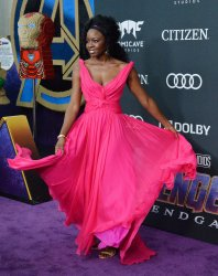 "Danai Gurira attends ""Avengers: Endgame"" premiere in Los Angeles"