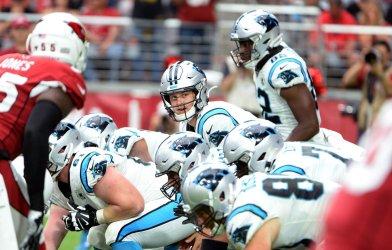 Panthers' Allen is down under center