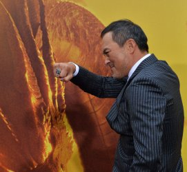"""Ken Watanabe attends the """"Godzilla: King of the Monsters' premiere in Los Angeles"""