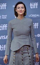 Caitriona Balfe attends 'Ford v Ferrari' photocall at Toronto Film Festival