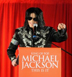 Michael Jackson press conference in London