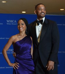 Will Smith and Jada Pinkett Smith arrive at the White House Correspondents' Association Dinner