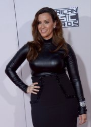 Alanis Morissette attends the 43rd annual American Music Awards in Los Angeles