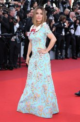 Salma Hayek attends the Cannes Film Festival