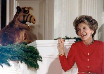 Nancy Reagan with Alf