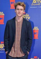 Jack Gray attends the MTV Movie & TV Awards in Santa Monica, California