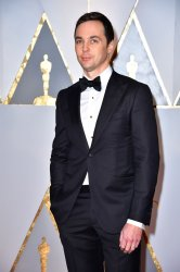 Jim Parsons arrives for the 89th annual Academy Awards in Hollywood