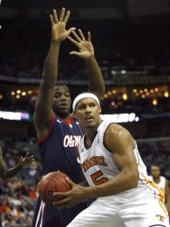Tennessee vs Ole Miss at the NCAA SEC Men's Basketball Tournament in New Orleans