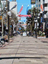 Yokohama under the state of emergency
