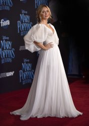 Emily Blunt attends 'Mary Poppins Returns' premiere in LA