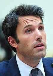 Actor Ben Ben Affleck testifies during a House hearing on the Congo in Washington
