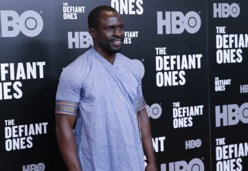 Gbenga Akinnagbe at 'The Defiant Ones' premiere