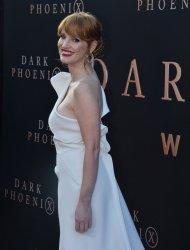 "Jessica Chastain attends the ""Dark Phoenix"" premiere in Los Angeles"