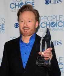 Conan O'Brien garners award at the People's Choice Awards in Los Angeles
